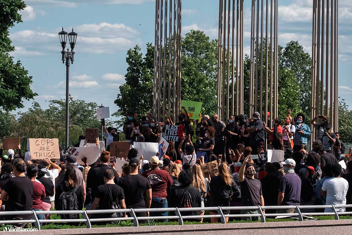 Trenton New Jersey Protests 2020